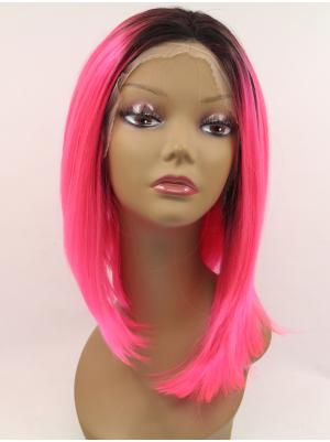 Straight Red Style Synthetic Lace Wig Sale