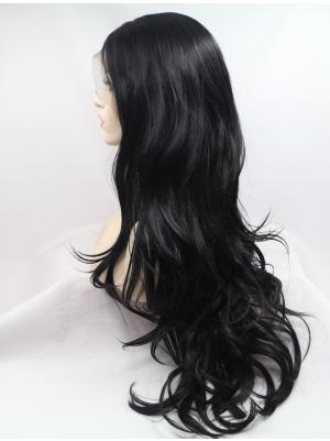30 Inches Black Incredible Long Curly Best Lace Wig