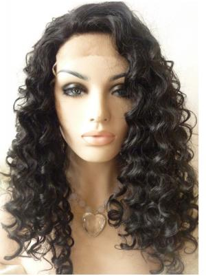 Black Curly Long Fashion Quality Lace Wigs