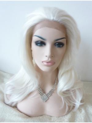 Wavy Vanilla Fashion Synthetic Lace Wigs