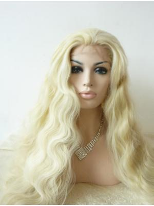 Curly Blonde New Synthetic Lace Wig