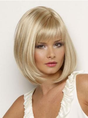 Gorgeous With Bangs Blonde 11 Inches Wigs