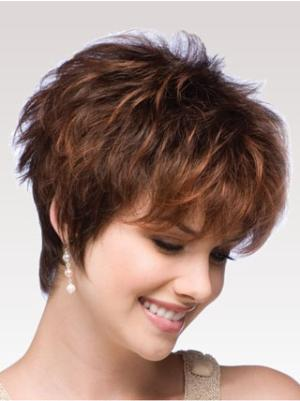 6 Inches Wavy Popular Short Cropped Wig