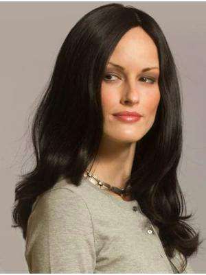 18 Inches Long Wavy Synthetic Best Black Hairstyles