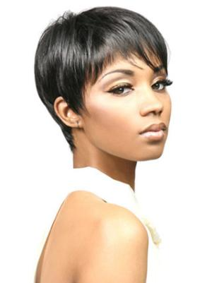 4 Inches Straight Comfortable Hairstyles For Short Hair