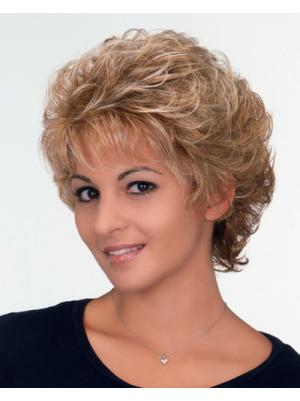 Cheap 6 Inches Synthetic Curly Short Classic Wigs