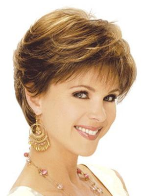 Short Wavy High Quality 6 Inches Wigs