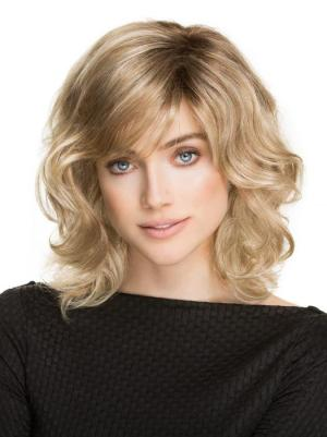 Fabulous 12 Inches Synthetic Wavy Shoulder Length Classical Wigs