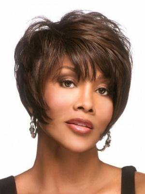 Short Straight Modern 8 Inches Wigs