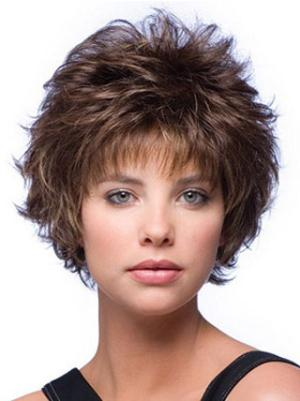 Short Wavy Online 6 Inches Wigs