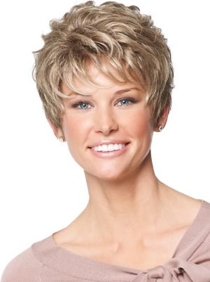 6 Inches Wavy Stylish Cropped Wigs