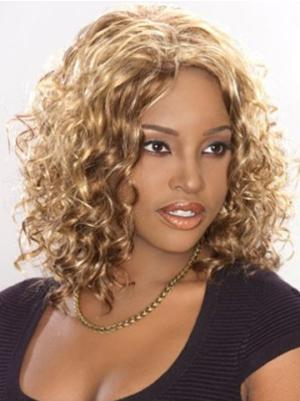 Shoulder Length Curly Top 12 Inches Wigs