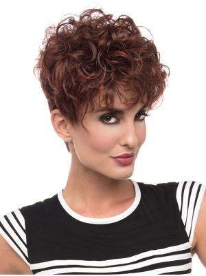 New 6 Inches Synthetic Curly Short Wigs For Sale