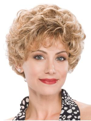 Stylish 8 Inches Synthetic Curly Short Wig Shop