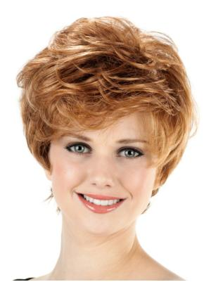Soft 8 Inches Synthetic Wavy Short Wigs Online