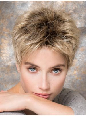 Straight 4 Inches Ideal Blonde Short Hairstyles