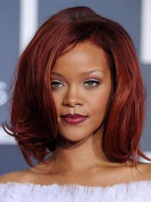 Straight Capless Red Without Bangs Cheapest Wigs
