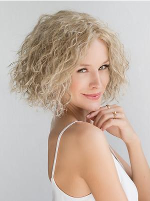 Chin Length Curly Stylish 10 Inches Wigs