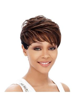 4 Inches Straight New Cropped Wigs