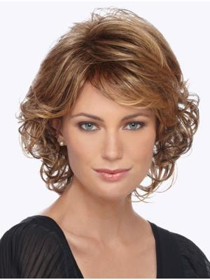 Chin Length Curly Designed 12 Inches Wigs