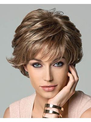 Short Wavy Durable 9.5 Inches Wigs
