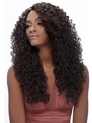 Kinky Brown 20 Inches Without Bangs Exquisite Wigs