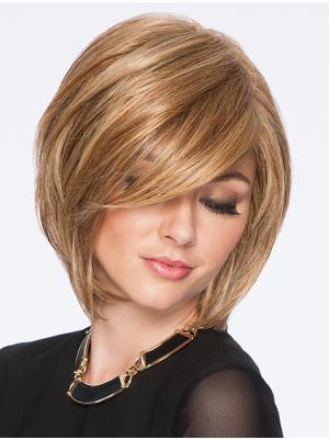 Blonde 10 Inches Chin Length Straight Capless Bob Hairstyles