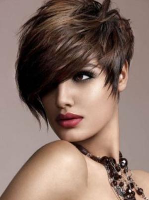 6 Inches Straight Convenient Ladies Short Wigs