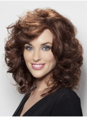 Wavy Auburn 13 Inches With Bangs New Wigs
