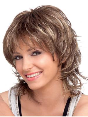 Shoulder Length Wavy Style 10 Inches Wigs