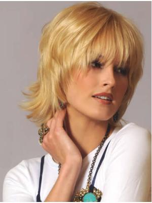 No-fuss Layered Blonde 10 Inches Wigs