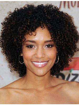 10 Inches Short Kinky Synthetic Great Black Women Hairstyles