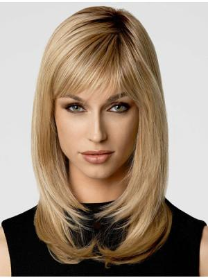 Perfect Layered Blonde 16 Inches Wigs