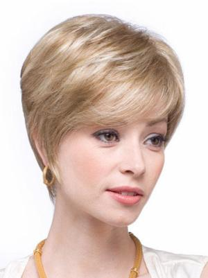 Ideal Layered Blonde 6 Inches Wigs