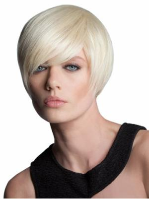 Short Straight Modern 7 Inches Wigs