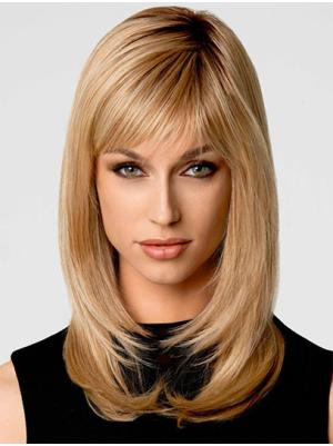 Fashionable Layered Blonde 14 Inches Wigs