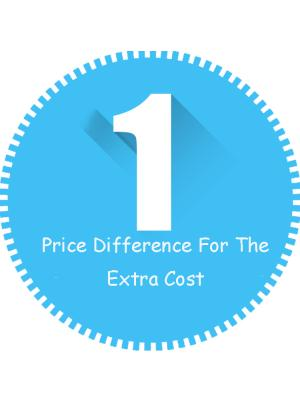 Price Difference Pay On Your Order